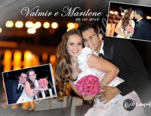 Casamento de Valmir e Marilene