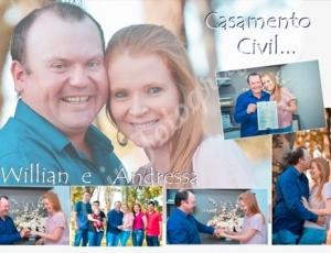 Casamento civil da Andressa e do Willian 25-09-20