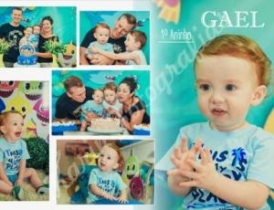 Aniversário de 1 aninho do Gael 13-10-20