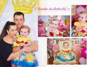 Aniversário de 1 aninho da Amberlly 18-10-20