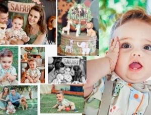 Aniversário de 1 aninho do Miguel 21-04-21