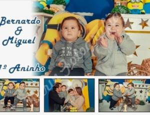 Aniversário do Miguel e do Bernardo 27-06-21