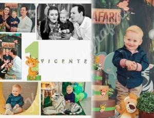 Aniversário de 1 aninho do Vicente 14-08-21