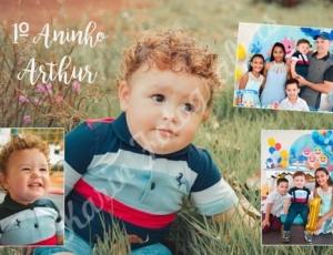 Aniversário de 1 aninho do Arthur 04-09-21
